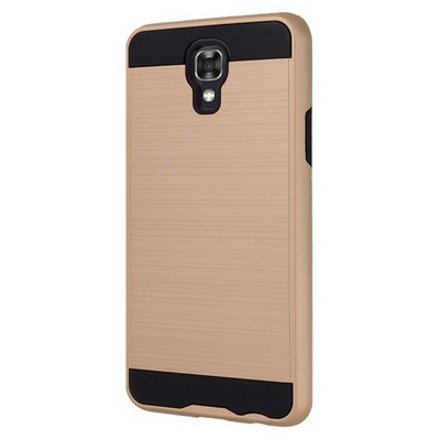 Microsonic Lg X Screen Kılıf Slim Heavy Duty Gold Cep Telefonu Kılıfı