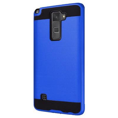 Microsonic Lg Stylus 2 Kılıf Slim Heavy Duty Mavi Cep Telefonu Kılıfı