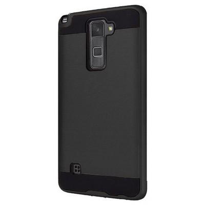 Microsonic Lg Stylus 2 Kılıf Slim Heavy Duty Siyah Cep Telefonu Kılıfı