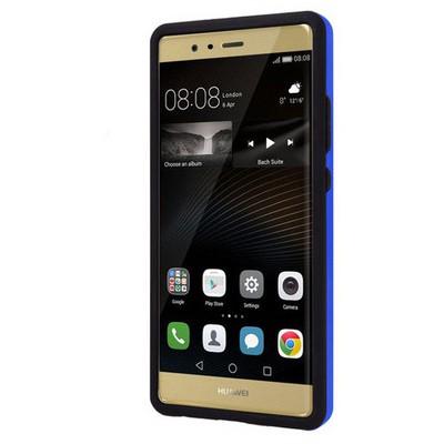 Microsonic Huawei P9 Kılıf Slim Heavy Duty Mavi Cep Telefonu Kılıfı