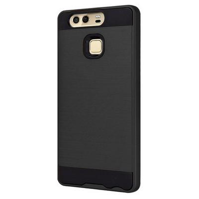 Microsonic Huawei P9 Kılıf Slim Heavy Duty Siyah Cep Telefonu Kılıfı