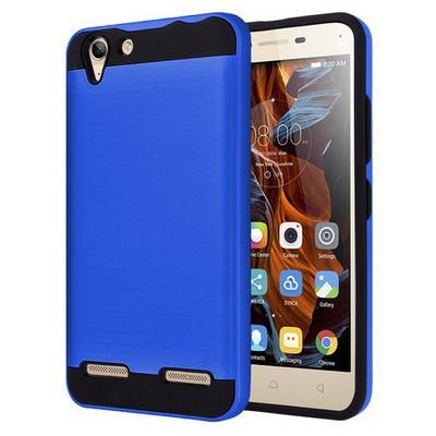 Microsonic Lenovo Vibe K5 Kılıf Slim Heavy Duty Mavi Cep Telefonu Kılıfı