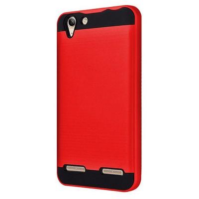Microsonic Lenovo Vibe K5 Kılıf Slim Heavy Duty Kırmızı Cep Telefonu Kılıfı