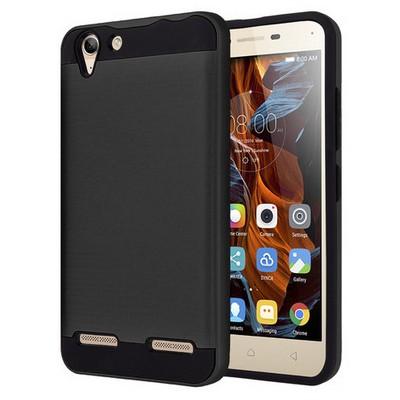 Microsonic Lenovo Vibe K5 Kılıf Slim Heavy Duty Siyah Cep Telefonu Kılıfı