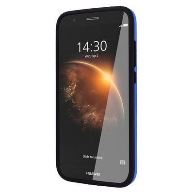 Microsonic Huawei G8 Kılıf Slim Heavy Duty Mavi Cep Telefonu Kılıfı