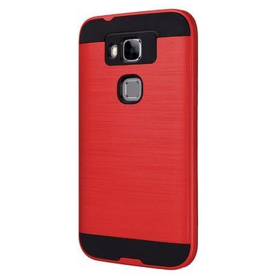 Microsonic Huawei G8 Kılıf Slim Heavy Duty Kırmızı Cep Telefonu Kılıfı