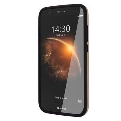 Microsonic Huawei G8 Kılıf Slim Heavy Duty Gold Cep Telefonu Kılıfı