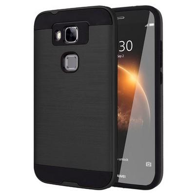Microsonic Huawei G8 Kılıf Slim Heavy Duty Siyah Cep Telefonu Kılıfı