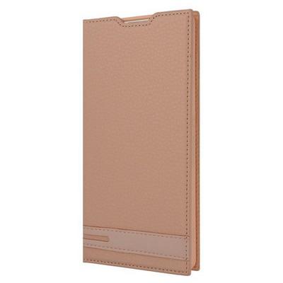 Microsonic Sony Xperia Xa Ultra Kılıf Gizli Mıknatıslı Delux Gold Cep Telefonu Kılıfı