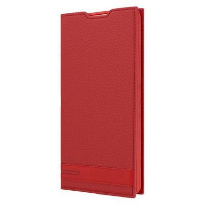 Microsonic Sony Xperia Xa Ultra Kılıf Gizli Mıknatıslı Delux Kırmızı Cep Telefonu Kılıfı