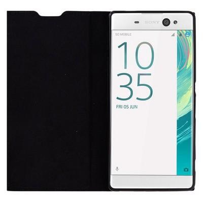 Microsonic Sony Xperia Xa Ultra Kılıf Gizli Mıknatıslı Delux Siyah Cep Telefonu Kılıfı