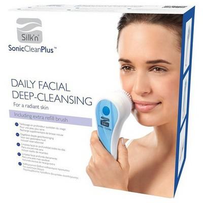 Silk'n Sonic Clean Plus Yüz Temizleme Fırçası