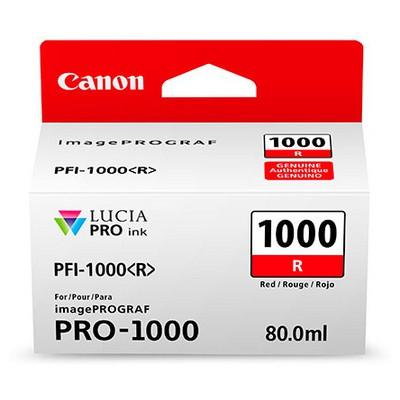 Canon 0554c001 Ink Pfı-1000 Kırmızı Kartuş
