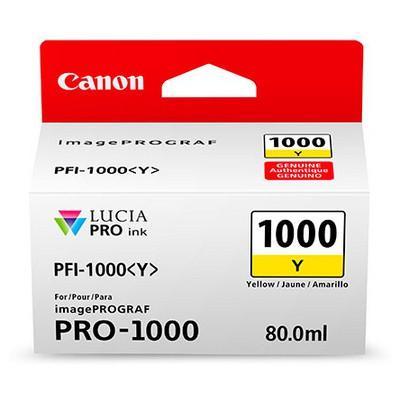 Canon 0549c001 Ink Pfı-1000 Sarı Kartuş