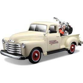 Maisto 1:25 Harley-davidson 1950 Chevrolet 3100 Pickup Model Araba Arabalar