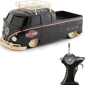 Maisto Tech 1:16 Harley-davidson Volkswagen Pickup U/k Araba Siyah Arabalar