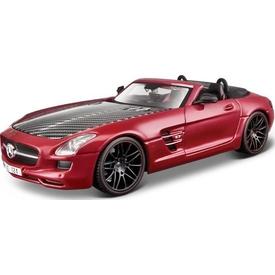 Maisto Mercedes-benz Sls Amg Roadster Model Araba 1:24 Exotics Kırmızı Arabalar