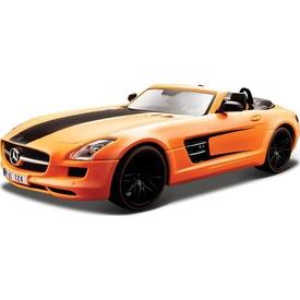 Maisto Mercedes-benz Sls Amg Roadster Model Araba 1:24 Pro Rodz Turuncu Arabalar