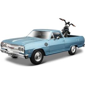 Maisto 1:25 Harley-davidson 1965 Chevrolet El Camino Model Araba Arabalar