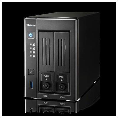 """Thecus N2810 Nas Server 2 Ad. 3.5"""" Ya Da Ssd Desteklı Yedekleme Veri Depolama Cihazı"""