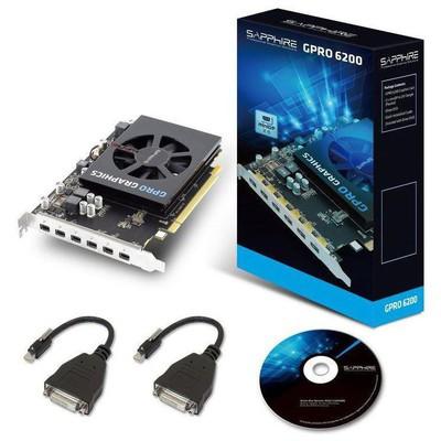 Sapphire GPro 6200 4G D5 Ekran Kartı (32258-00)