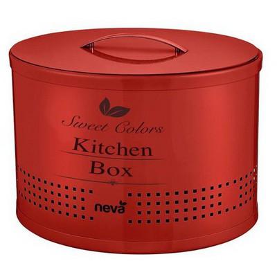 Neva N 2288 Sweet Kitchen Box - Kırmızı Küçük Mutfak Gereçleri