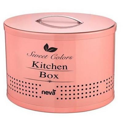 Neva N 2289 Sweet Kitchen Box - Pembe Küçük Mutfak Gereçleri