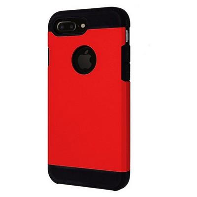Microsonic Iphone 7 Plus Kılıf Slim Fit Dual Layer Armor Kırmızı Cep Telefonu Kılıfı