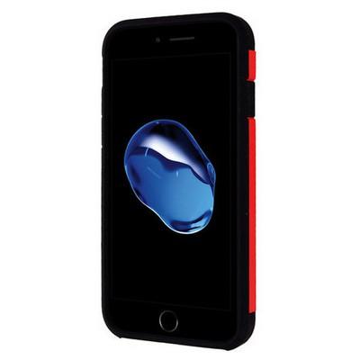 Microsonic Iphone 7 Kılıf Slim Fit Dual Layer Armor Kırmızı Cep Telefonu Kılıfı
