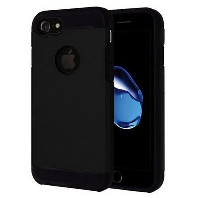 Microsonic Iphone 7 Kılıf Slim Fit Dual Layer Armor Siyah Cep Telefonu Kılıfı