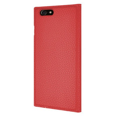 Microsonic Iphone 7 Kılıf Dual View Gizli Mıknatıslı Kırmızı Cep Telefonu Kılıfı