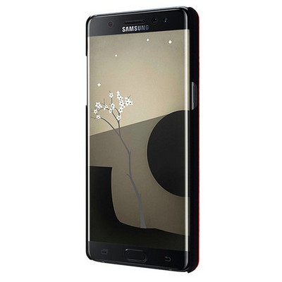 Microsonic Samsung Galaxy Note 7 Kılıf Hybrid Metal Kırmızı Cep Telefonu Kılıfı