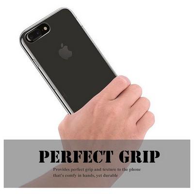 Microsonic Iphone 7 Plus Kılıf Transparent Soft Beyaz Cep Telefonu Kılıfı