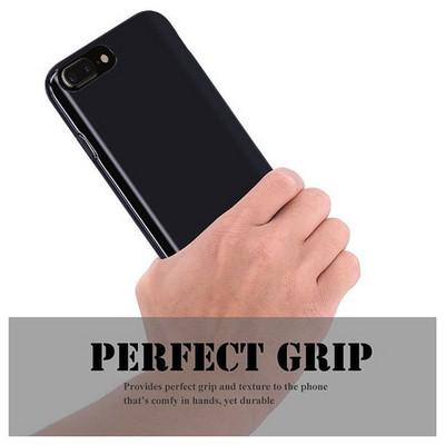 Microsonic Iphone 7 Plus Kılıf Transparent Soft Siyah Cep Telefonu Kılıfı