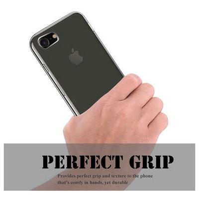 Microsonic Iphone 7 Kılıf Transparent Soft Beyaz Cep Telefonu Kılıfı