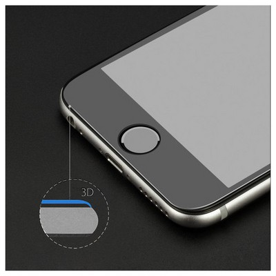 Microsonic Iphone 7 Kavisler Dahil Tam Ekran Kaplayıcı Şeffaf Koruyucu Film Ekran Koruyucu Film
