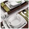 Kütahya Porselen Medusa 82 Parça 4574 Yemek Takımı Tabak