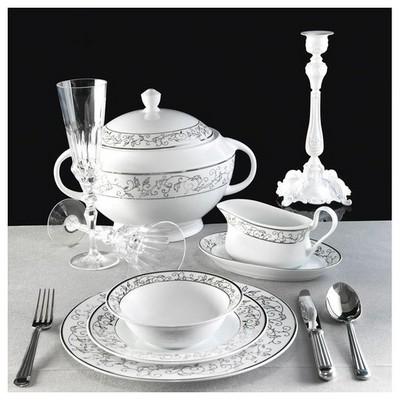 Kütahya Porselen 85 Parça 4951 Desen Yemek Takımı