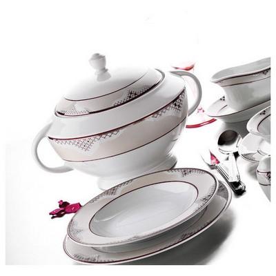 Kütahya Porselen 85 Parça 51583 Desen Yemek Takımı Tabak