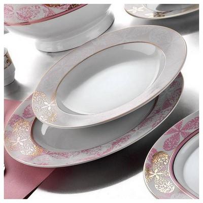 Kütahya Porselen 87 Parça 3963 Desen Yemek Takımı