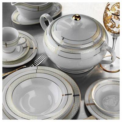Kütahya Porselen 85 Parça 10130 Desen Yemek Takımı