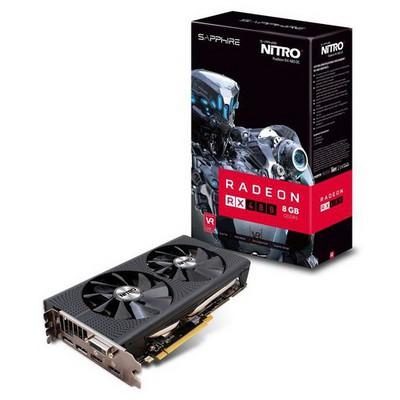 Sapphire Rx 480 Nitro+ 8gb Gddr5 256b 11260-07-20g Ekran Kartı