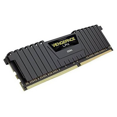 Corsair Vengeance LPX Black 8GB CL16 DDR4 Bellek (CMK8GX4M1A2400C16)