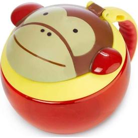 Skip Hop Zoo Çerez Kabı Maymun Beslenme Gereci