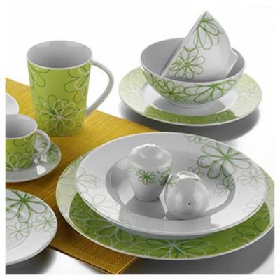 Kütahya Porselen 24 Parça 43793 Desen Yemek Seti Yemek Takımı
