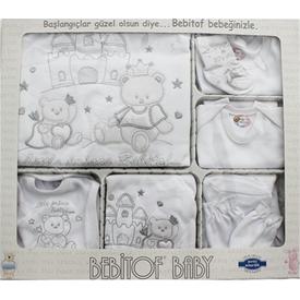 bebitof-67664-prens-nakisli-hastane-cikisi-10lu-set-krem-0-3-ay-56-62-cm