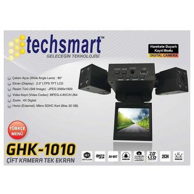 OEM Techsmart Ghk-1010 Çift Kameralı Araç Içi Kamera Araç İçi Kamera