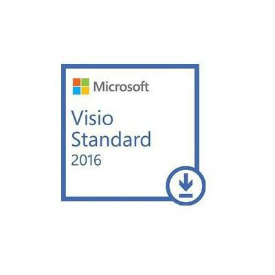 Microsoft Visio Std 2016 Win All Lng Pk Lic Online Dwnld C2r Nr Ofis Yazılımı
