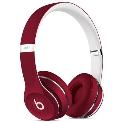 Apple Beats Solo2 Kulak Üstü Kulaklık, Luxe Edition - Kırmızı