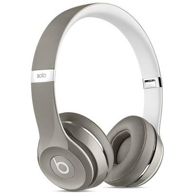 Apple Beats Solo2 Kulak Üstü Kulaklık, Luxe Edition - Gümüş
